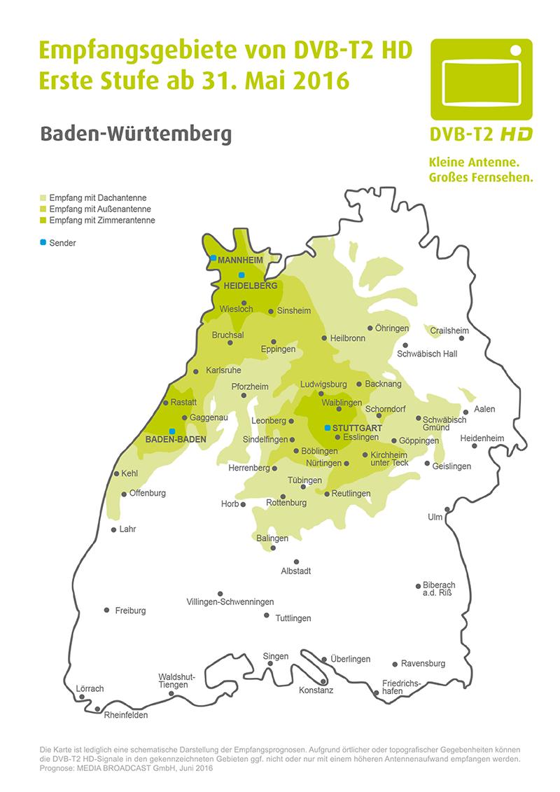 Dvb T Empfang Karte Deutschland